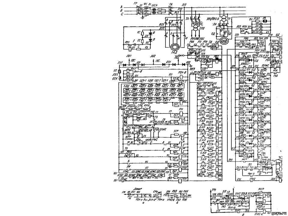 Схема пассажирских лифтов с