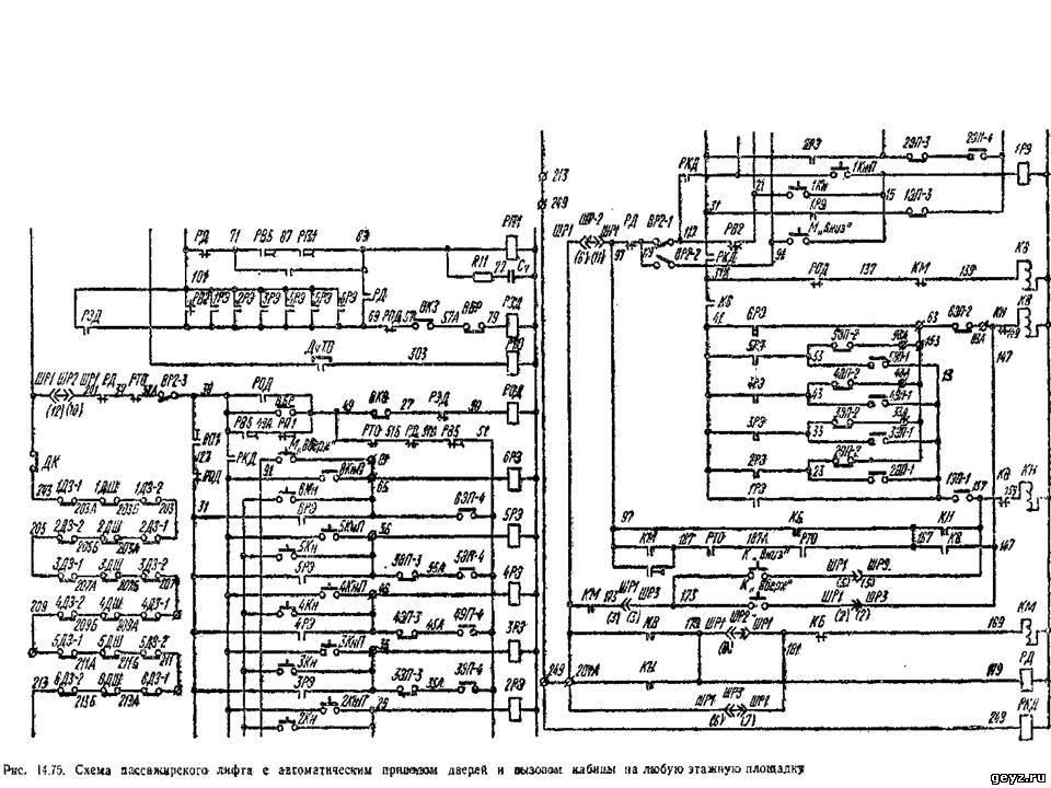 Електрическая схема ваз 21074.