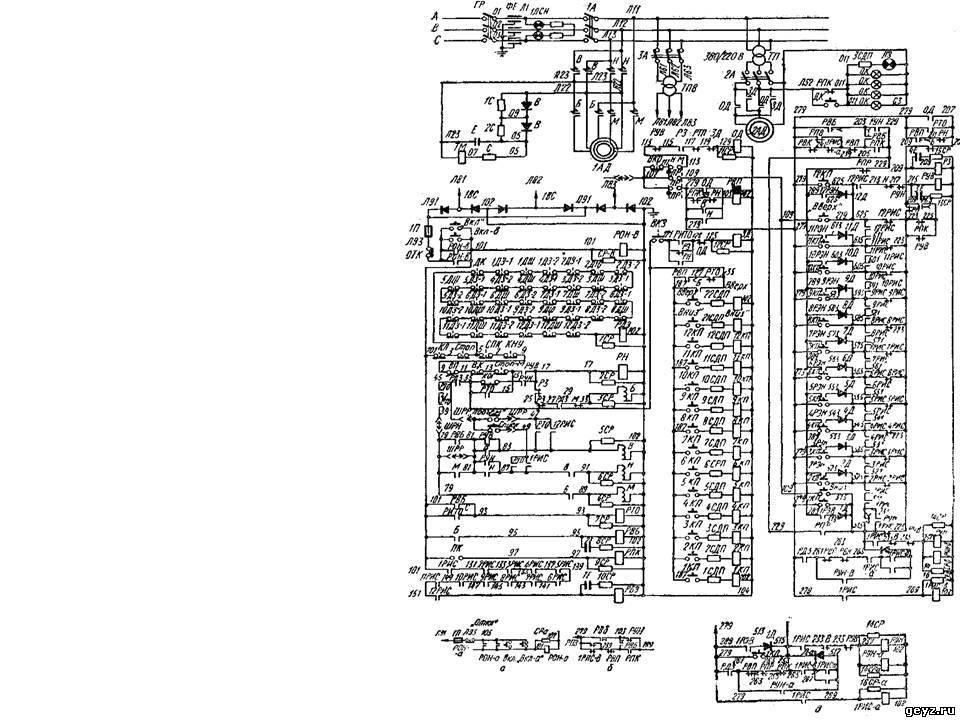 Электрическая схема лифта 400 кг по схеме