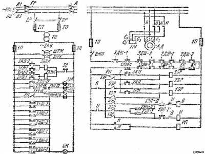 электрическая схема малого