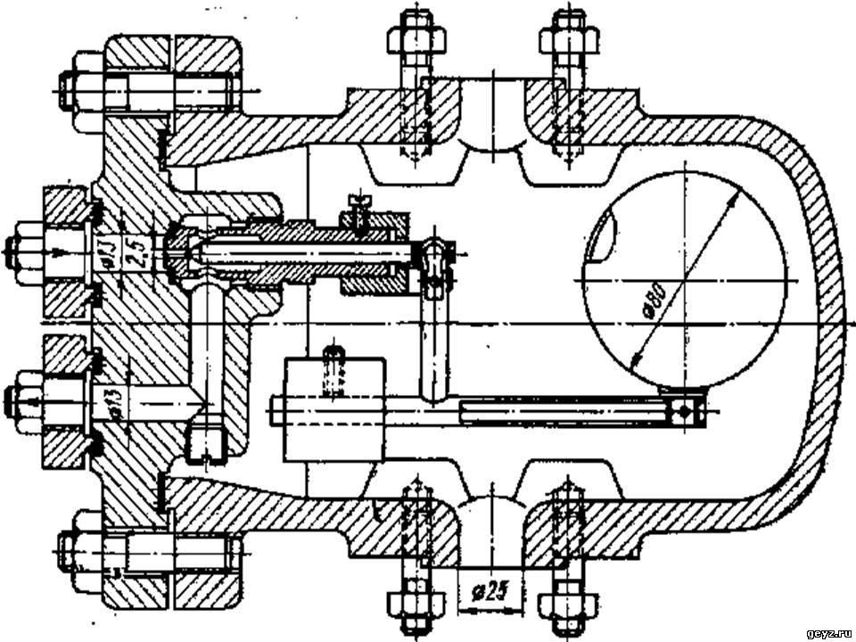Рис. 2.144, Регулятор уровня испарителей холодильных установок для жидкого аммиака.  Регуляторы уровня в энергетике...