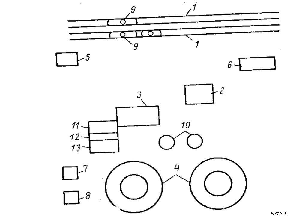 Структурная схема мазутного