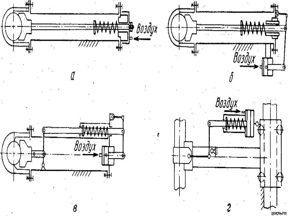Схемы электрододержателей